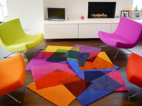 فرش و قالیچه در دکوراسیون