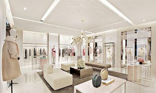 معماری داخلی مزون لباس